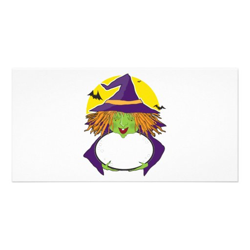 Witch and Cauldron Photo Cards