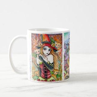 * Witch and Kitty Cat *- Mug