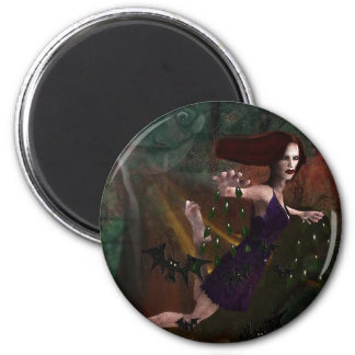 Witch and the Moon Magnets