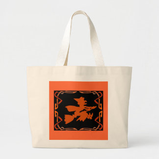 Witch Bag...Trick or Treat Jumbo Tote Bag