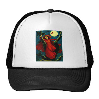 Witch & Black Cats Cap