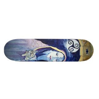 Witch Board Custom Skate Board