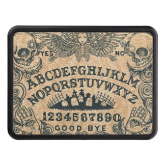 witch board trailer hitch cover