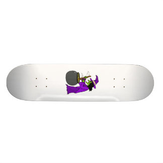Witch brewing potion skate board