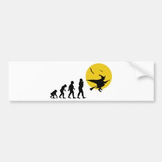 Witch Bumper Sticker