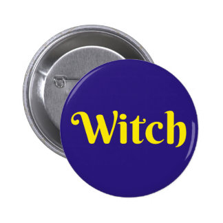 Witch - Button Pin Badge