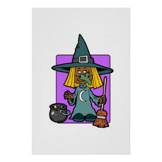 Witch Costume Posters