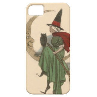 Witch Crescent Moon Owl iPhone 5 Case