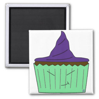 Witch Cupcake Magnet