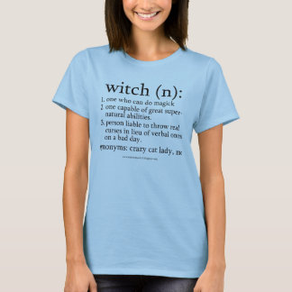 Witch Dictionary am I in? T-Shirt