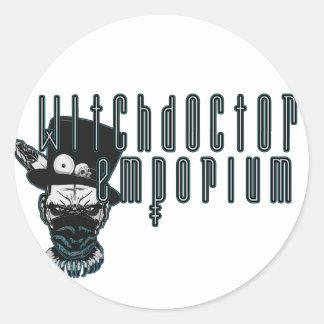 Witch Doctor Emporium Round Sticker