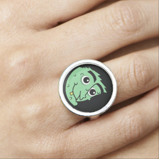 Witch Face Ring