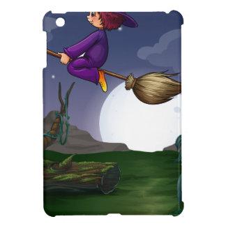Witch flying iPad mini case