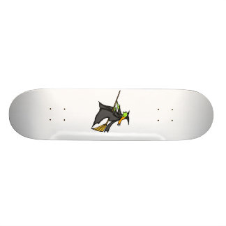 Witch Flying Custom Skate Board