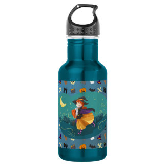 Witch for child 532 ml water bottle