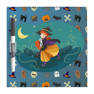 Witch for child dry erase board