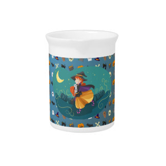 Witch for child pitcher