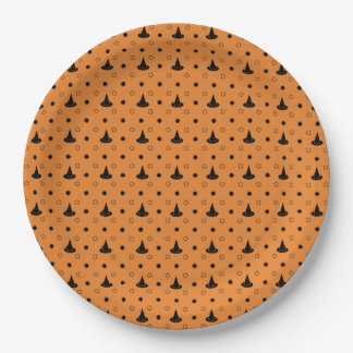 Witch Hat Print Paper Plate