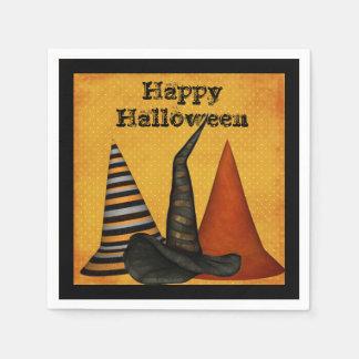 Witch Hats Halloween Party Napkins Paper Serviettes