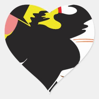 Witch Heart Sticker