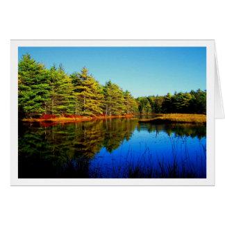 Witch Hole Pond Card