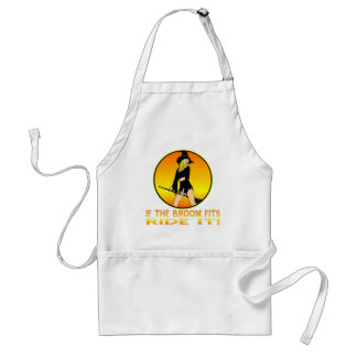 Witch If The Broom Fits Ride It Standard Apron