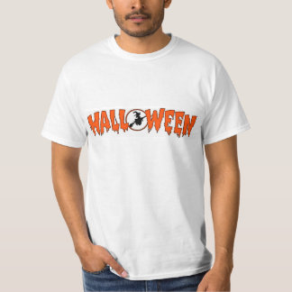 Witch In Halloween Greeting Tshirt