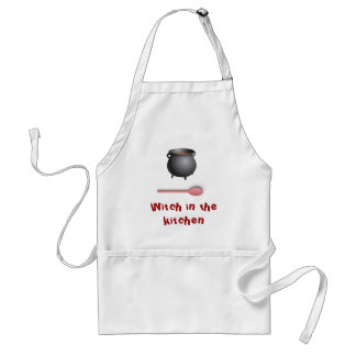 Witch in the kitchen standard apron