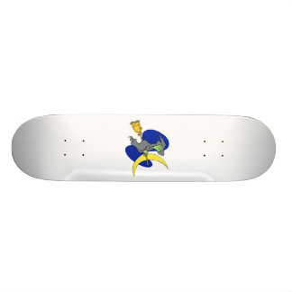 Witch in the sky skate deck