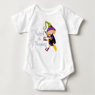 Witch In Training Baby Bodysuit