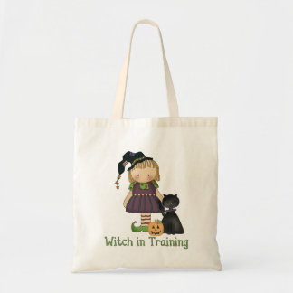 Witch in Training Halloween Trick-or-Treat Bag
