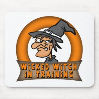 Witch In Training Mouse Pad