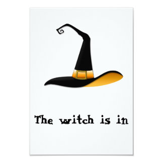 "Witch 3.5"" X 5"" Invitation Card"