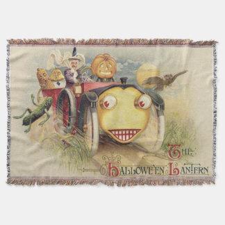 Witch Jack O Lantern Car Owl Full Moon
