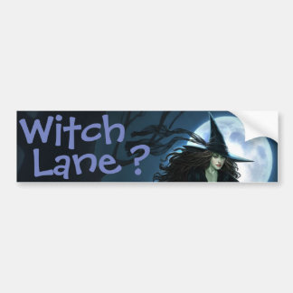 Witch Lane? Bumper Sticker