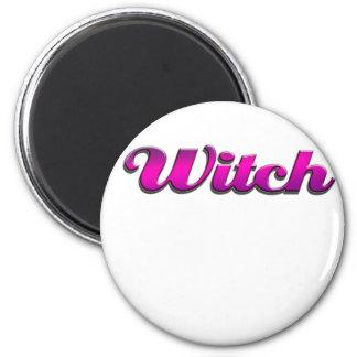 Witch Refrigerator Magnet