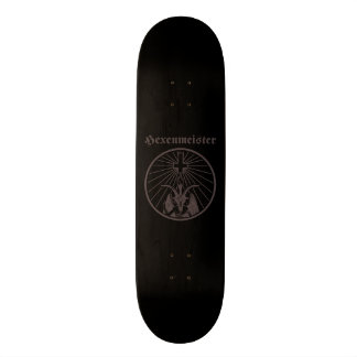 Witch master 21.6 cm old school skateboard deck