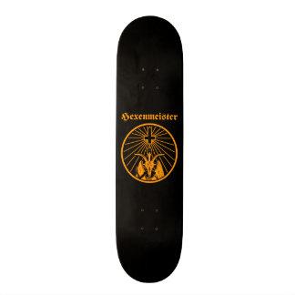 Witch master 19.7 cm skateboard deck