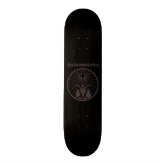 Witch master skateboards