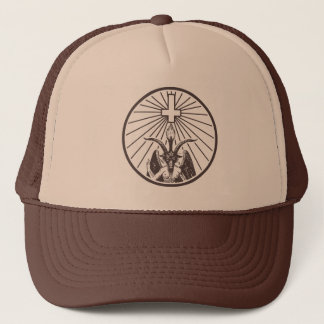 witch master trucker hat