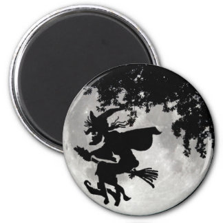 Witch Moon Refrigerator Magnets