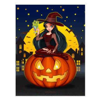 """Witch Night"" Postcard"