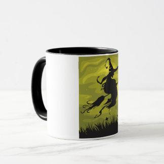 Witch On A Broomstick Mug