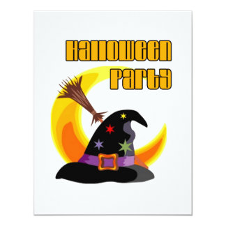 Witch Party Halloween Party Invitation