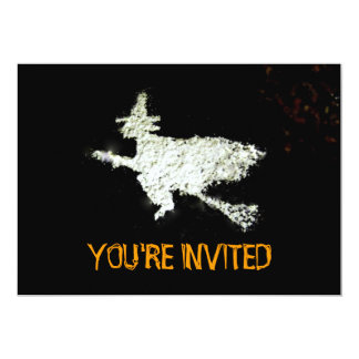 "Witch Party Invitation 5"" X 7"" Invitation Card"