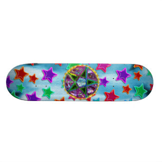 Witch Pentagram Skate Decks