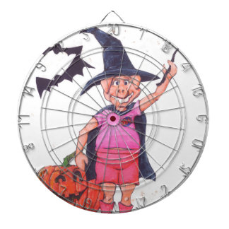 Witch Pig Dartboard