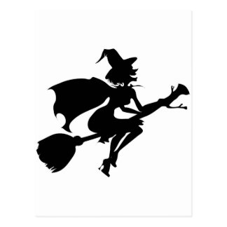 Witch Postcard