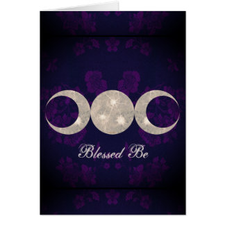 Witch Prim Triple Moon Goddess Card