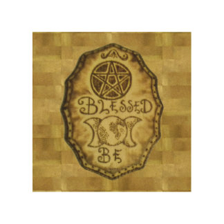 Witch Prim Triple Moon & Pentacle Sign
